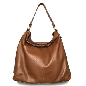 Kooba Brown Leather Tote Bag